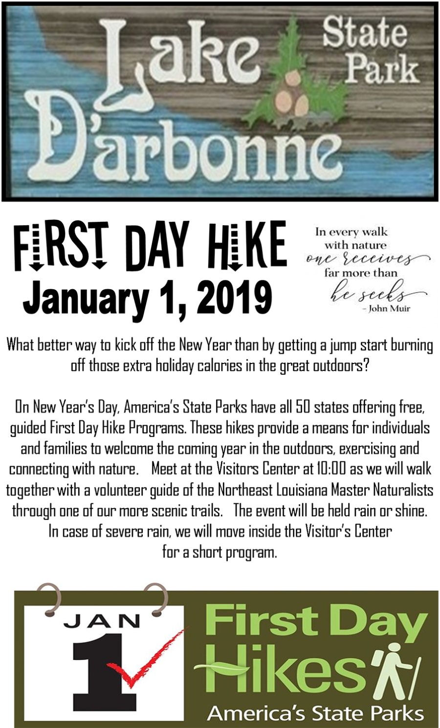 1st Day Hike Flyer